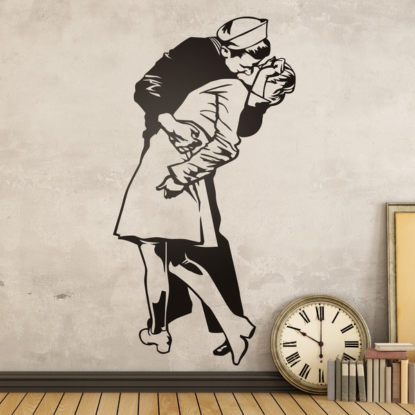Stickers muraux: baiser