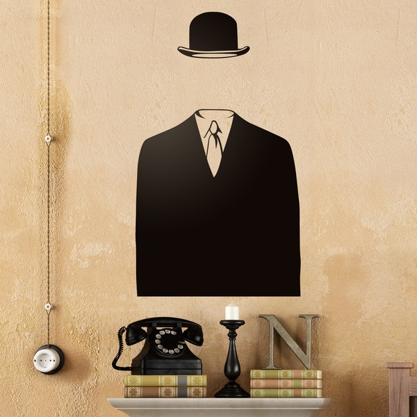 Stickers muraux: Magritte