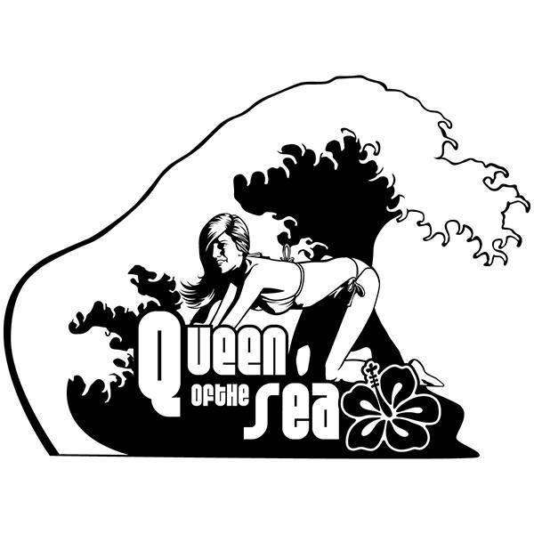 Stickers muraux: Reine de la mer