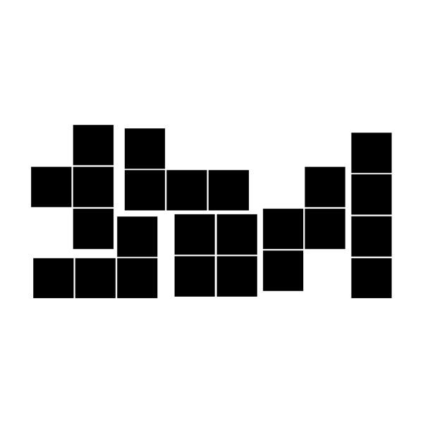 Stickers muraux: Block kit