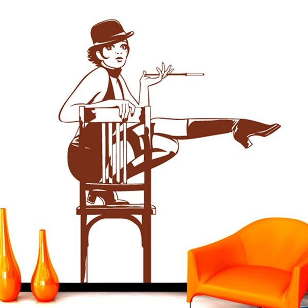 Stickers muraux: Cabaret