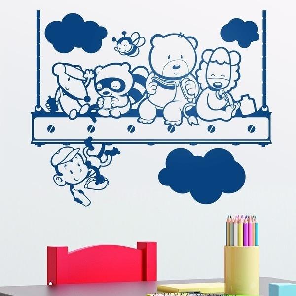 Stickers muraux: le déjeuner des enfants