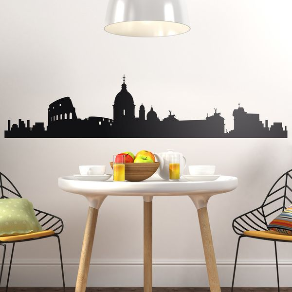 Stickers muraux: Roma Skyline
