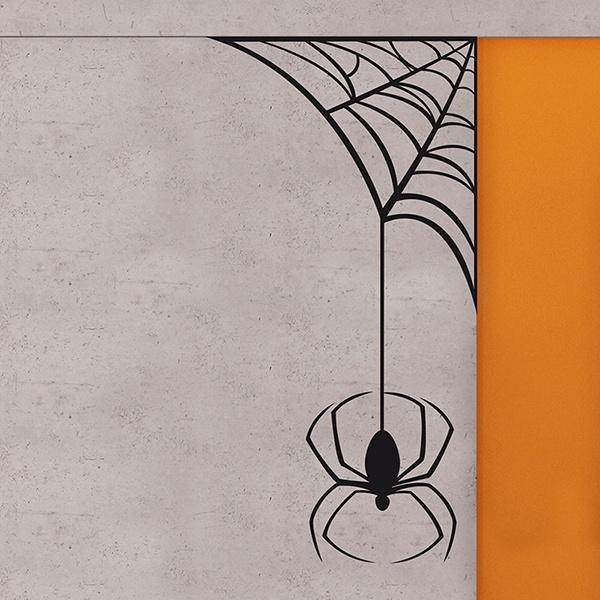 Stickers muraux: spiderweb