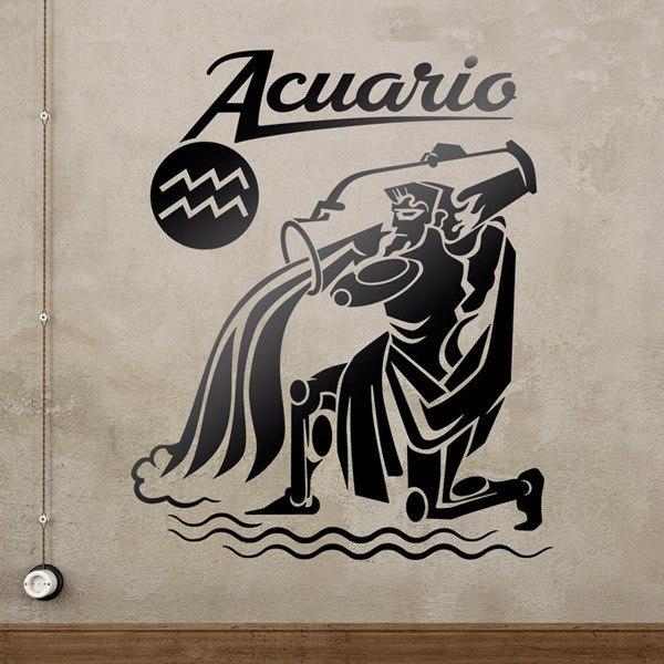 Stickers muraux: zodiaco 45 (Acuario)