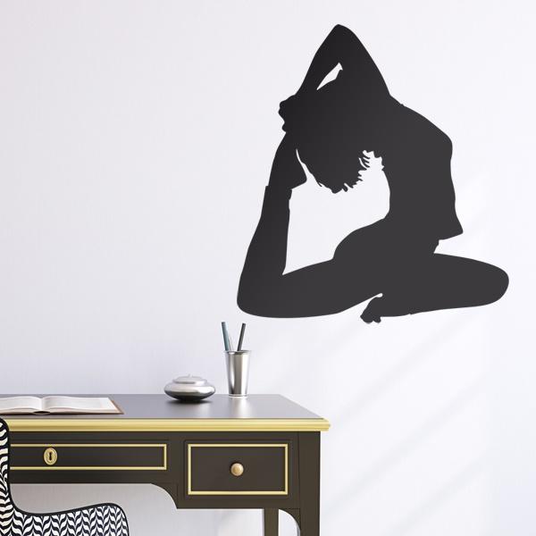 Stickers muraux: Gymnastique