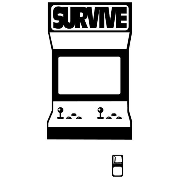 Stickers muraux: Recre