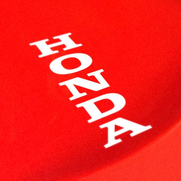 Autocollants: Lettres Honda verticales