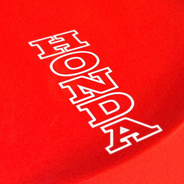 Autocollants: Honda Bord Vertical