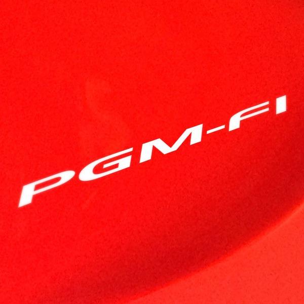 Autocollants: Honda PGM-FI
