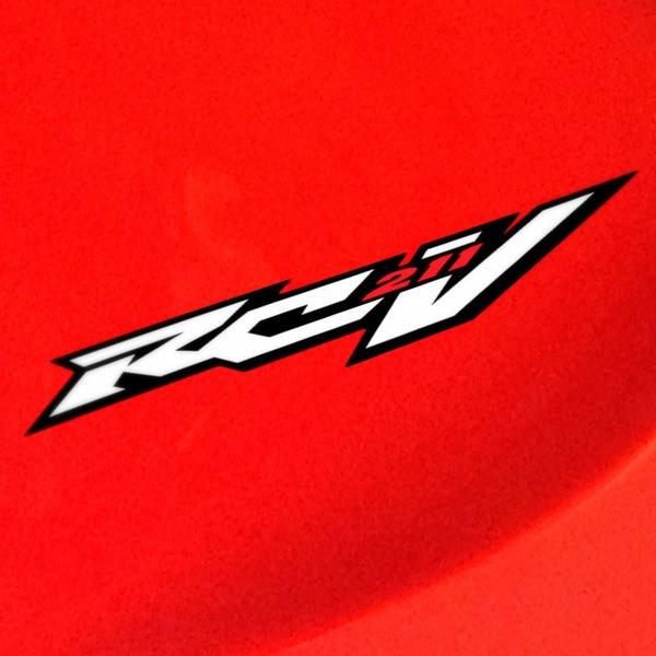 Autocollants: Honda RCV 211