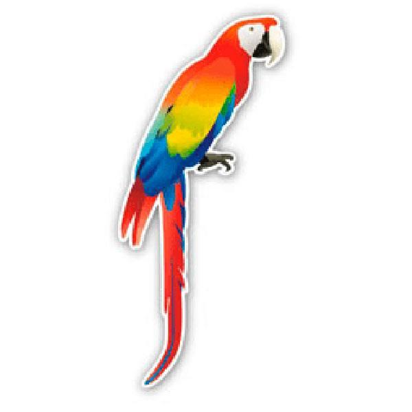 Autocollants: Parrot 1