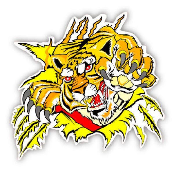 Autocollants: Tiger 1