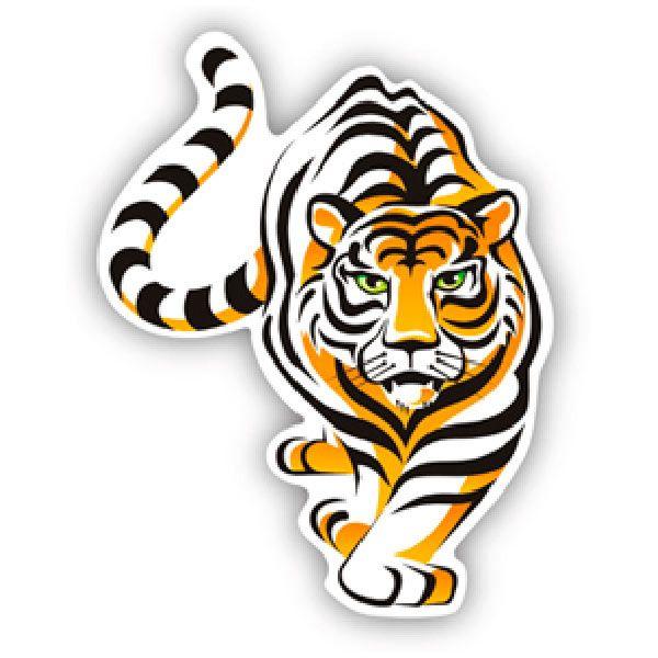 Autocollants: Tiger 4
