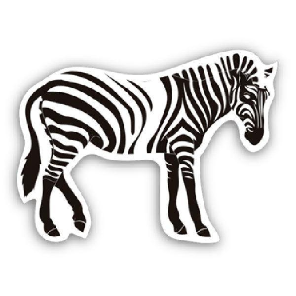 Autocollants: Zebra 1