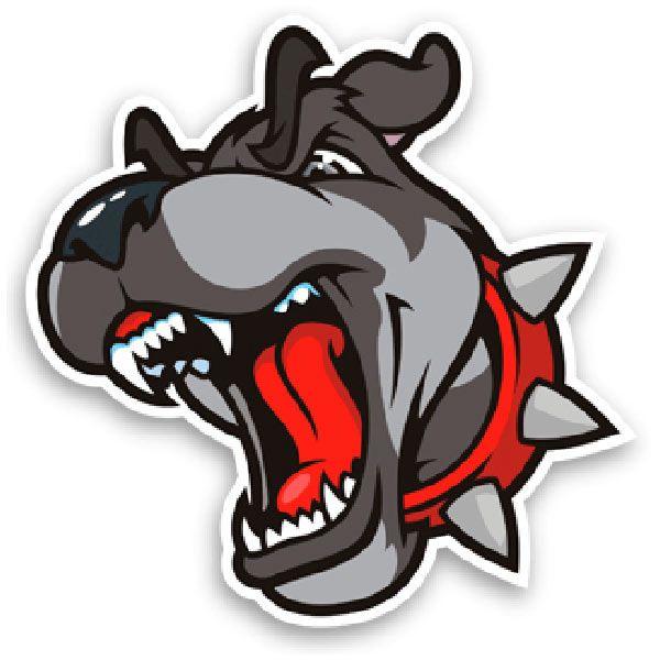 Autocollants: Bull dog