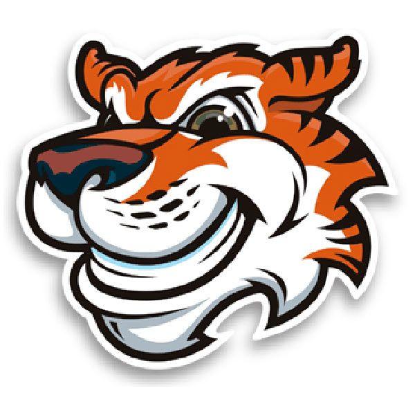 Autocollants: Tiger