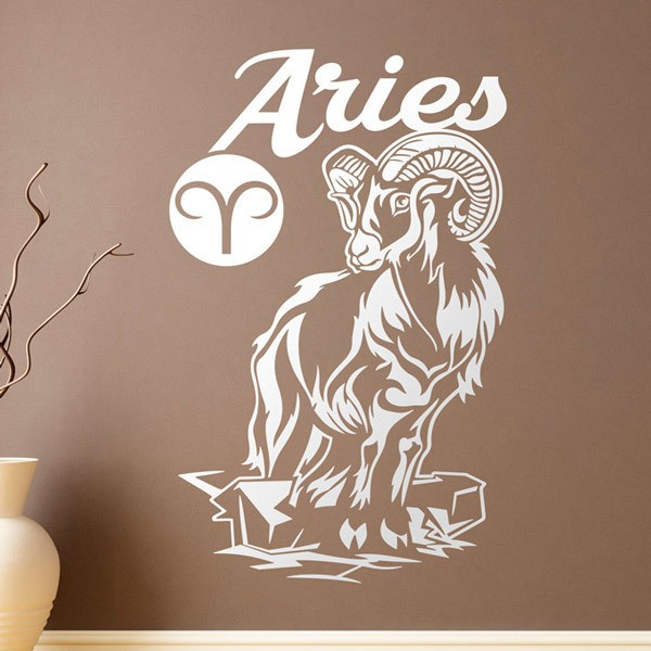 Stickers muraux: zodiaco 11 (Aries)