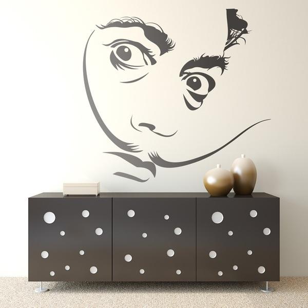 Stickers muraux: Dalí