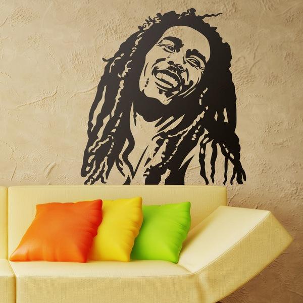 Stickers muraux: Bob Marley