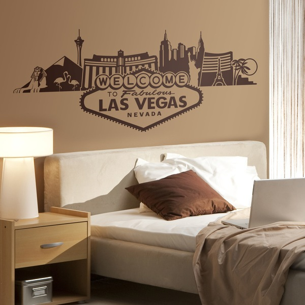 Stickers muraux: Skyline de Las Vegas