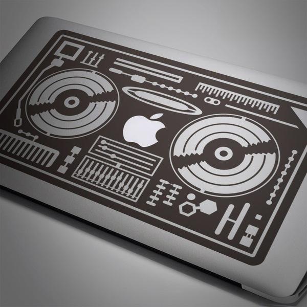 Autocollants: DJ Mixer