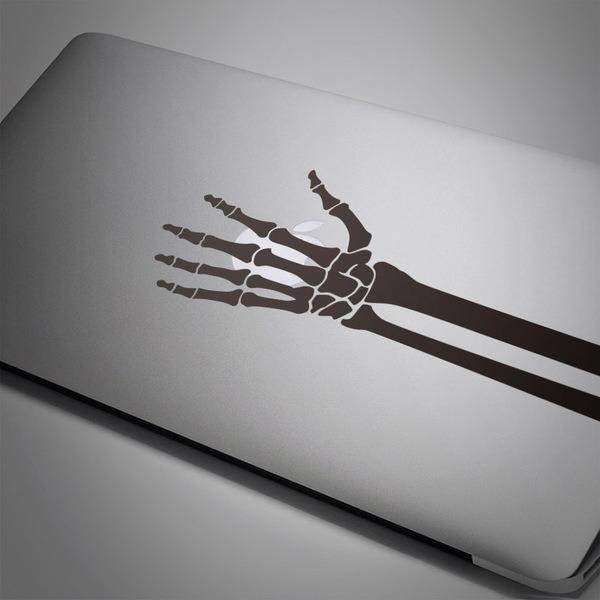 Autocollants: Squelette de une main