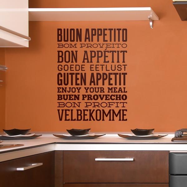 Stickers muraux: Bon Appetit