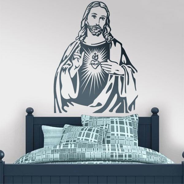 Stickers muraux: Jésus-Christ
