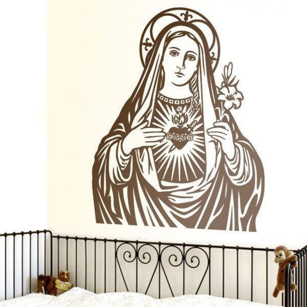Stickers muraux: Vierge Marie