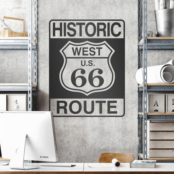 Stickers muraux: Historic Route 66
