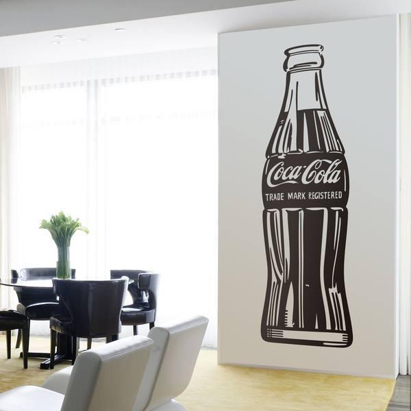 Stickers muraux: Coca Cola Warhol