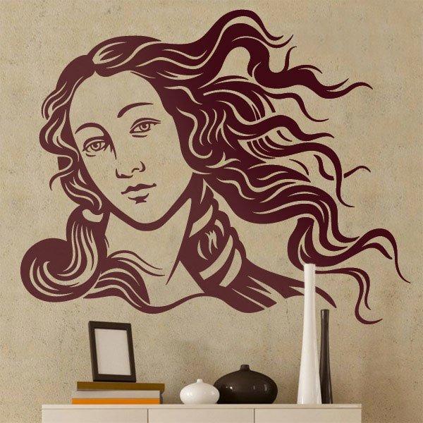 Stickers muraux: Vénus par Botticelli