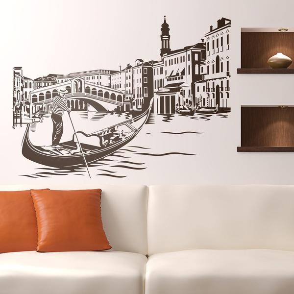 Stickers muraux: Pont du Rialto à Venise
