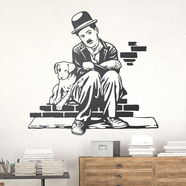 Stickers muraux: Charlot -Une vie de chien