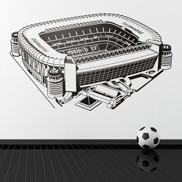 Stickers pour enfants: Stade Santiago Bernabéu
