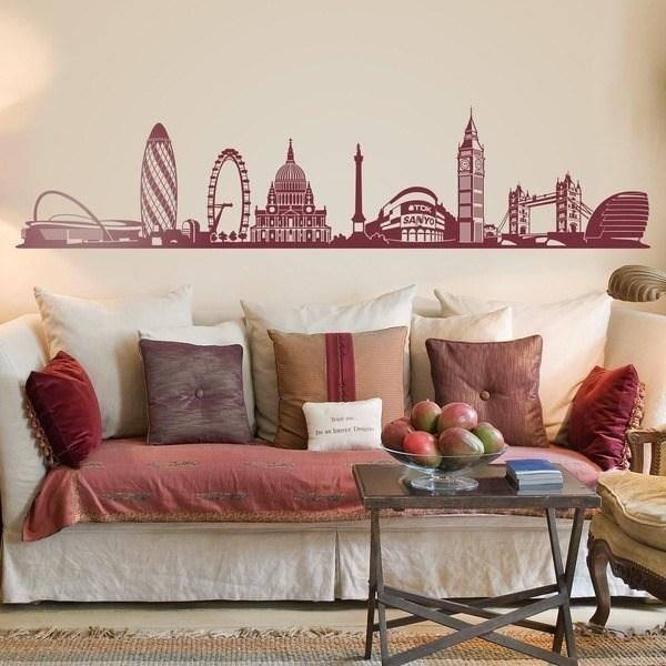 Stickers muraux: Londres horizon