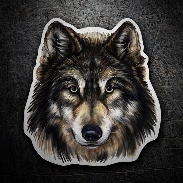 Autocollants: Wolf 1