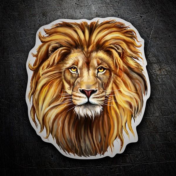 Autocollants: Lion 1