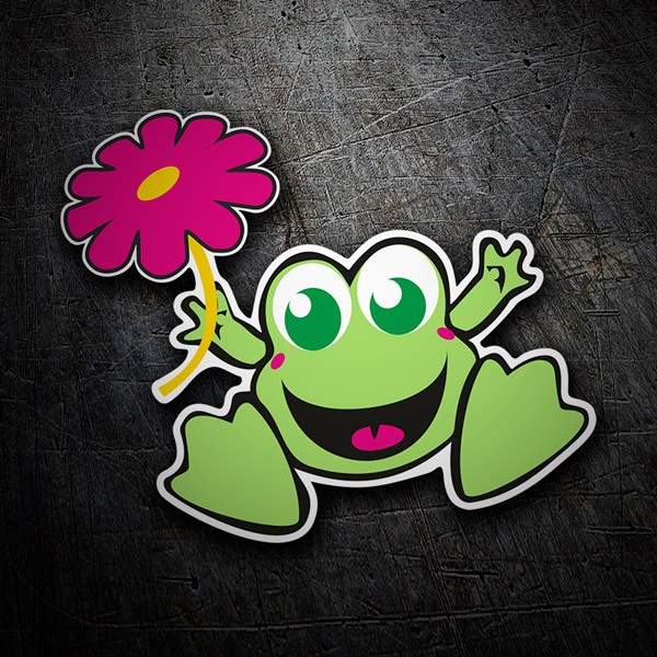 Autocollants: Frog 1