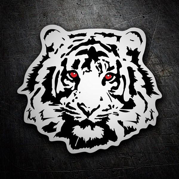 Autocollants: Tiger 2