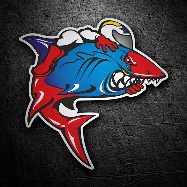 Autocollants: Shark 1