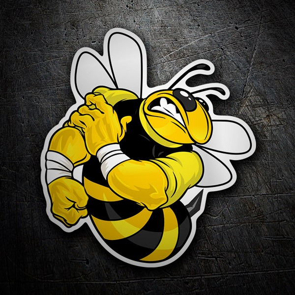 Autocollants: Bee