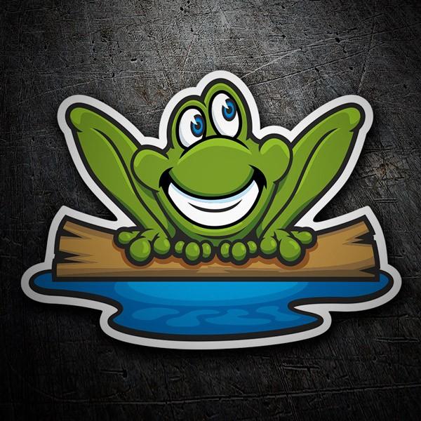 Autocollants: Frog