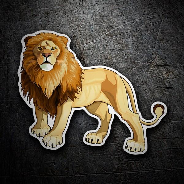 Autocollants: Roi Lion
