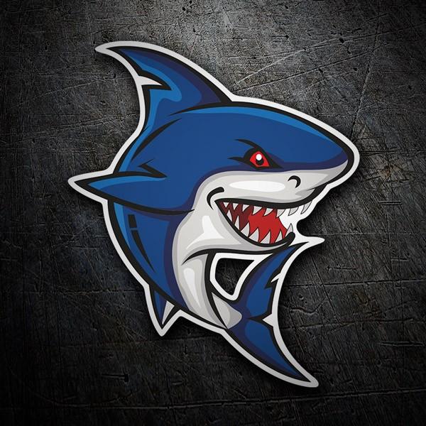 Autocollants: Requin