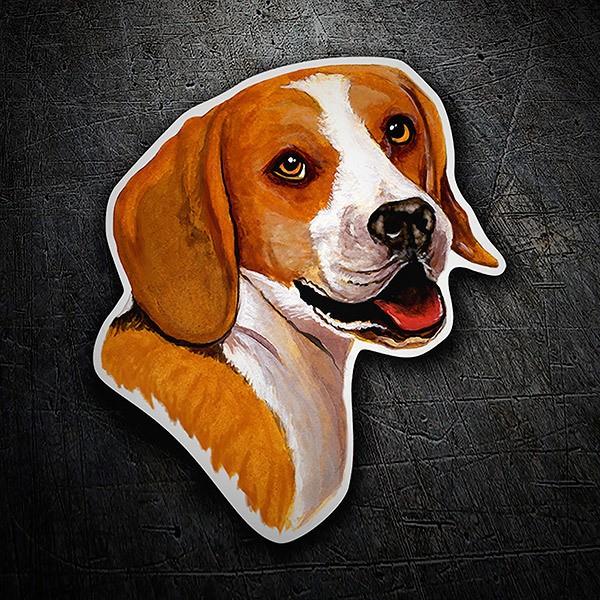 Autocollants: Beagle