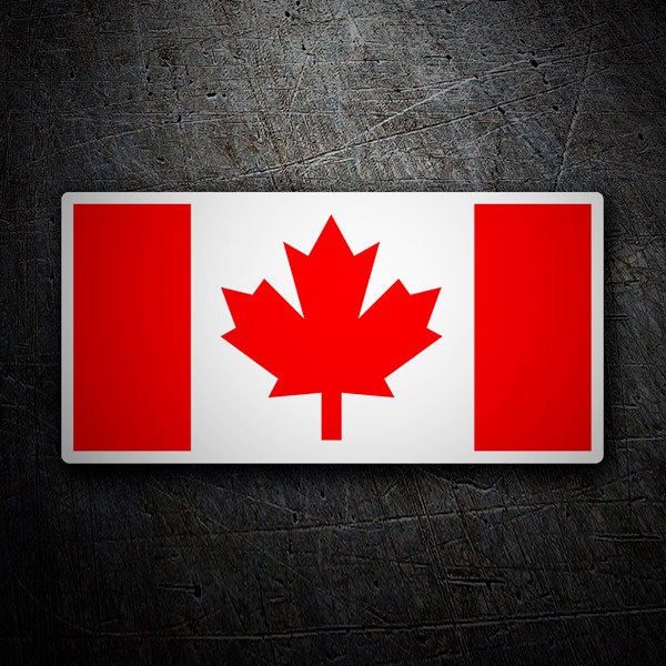 Autocollants: Canada