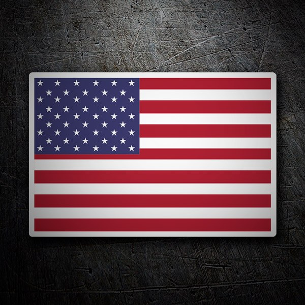 Autocollants: USA