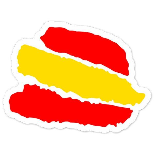 Autocollants: Caresse Espagne